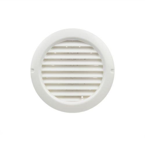 Grila ventilatie circulara 12.5 cm plastic