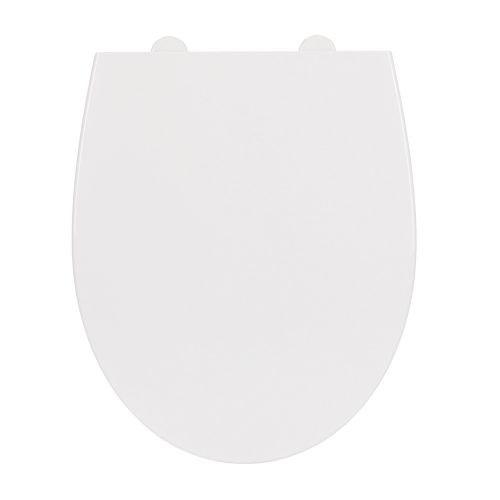 Capac WC polipropilena Delfi antibacterian alb