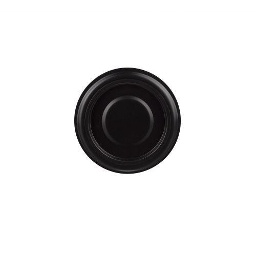 Rozeta perete cu capac D120 mm negru
