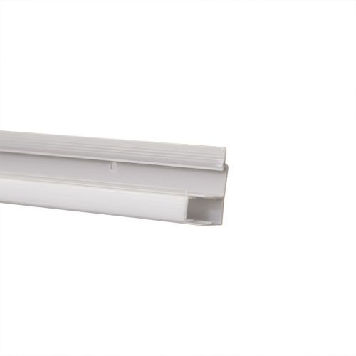 Plinta PVC LED 2400 x 42 x 17 mm gri satin