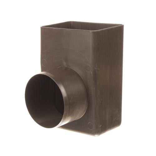 Racord scurgere de colt 100 x 100 Ø100 mm