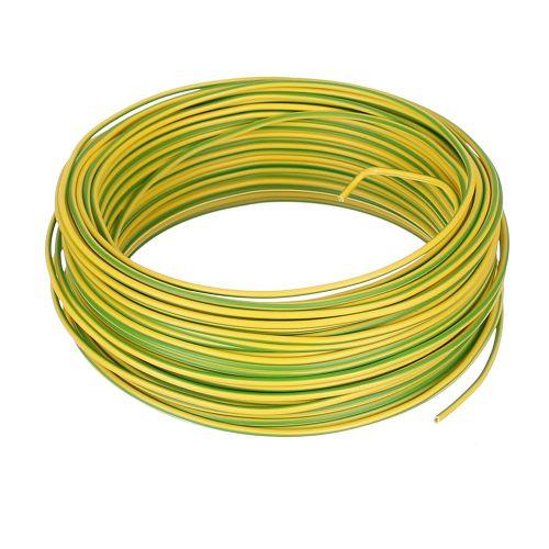 Cablu electric FY 1.5 mmp H07 V-U 50 m verde/galben
