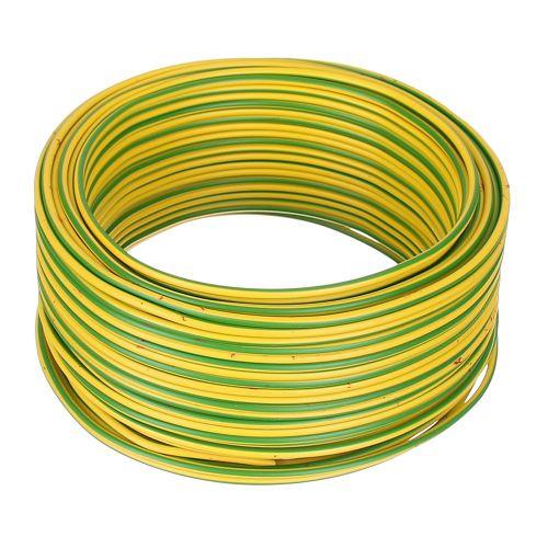 Cablu electric FY 2.5 mmp H07 V-U 50 m verde/galben