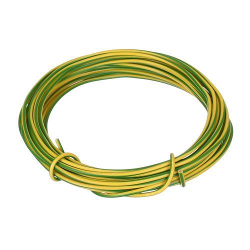 Cablu electric FY 2.5 mmp H07 V-U 10 m verde-galben