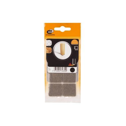 Patine adezive pasla 25 x 25 mm 8 buc