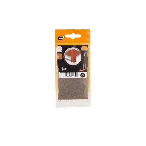 Patine adezive pasla 100 x 100 mm 1 buc maro