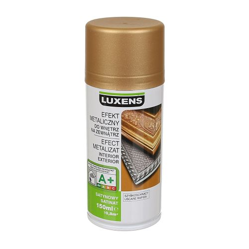 Spray satinat Luxens auriu metalic 150 ml
