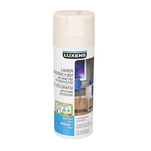 Spray mat Luxens alb fildes 400 ml