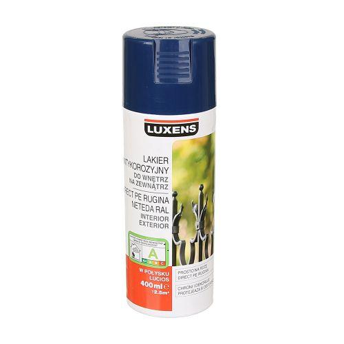 Spray lucios antirugina Luxens albastru 400 ml
