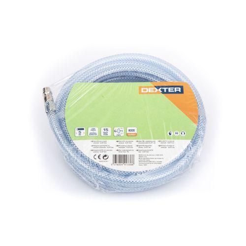 Furtun flexibil presiune PVC 6.5 x 10 x 5 mm Dexter