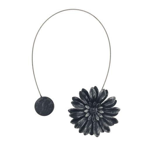 magnet negru/argint