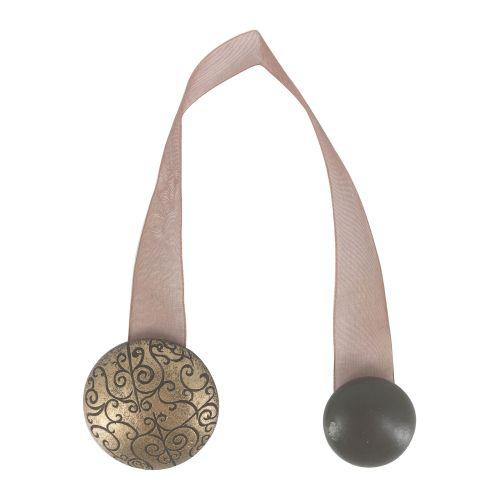 magnet rotund bronz