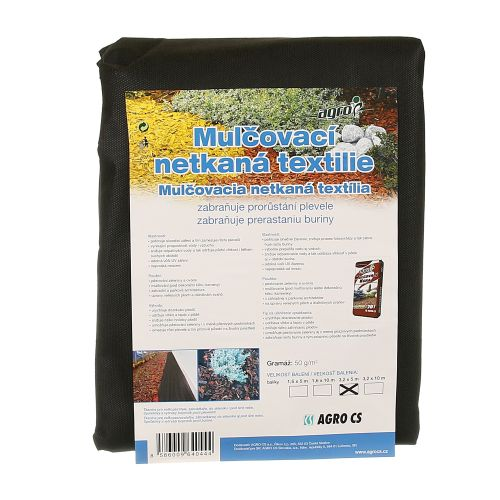 Textil netesut negru Jutabond 3.2 x 5 m