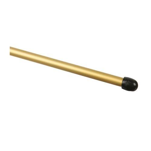 Profil treapta pentru mocheta 8 mm / 1.2 m auriu (set 2 buc)