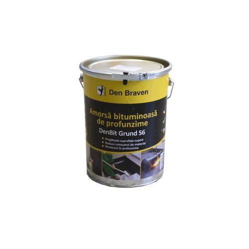 Denbit Grund S6 Amorsa bituminoasa 4.5 kg