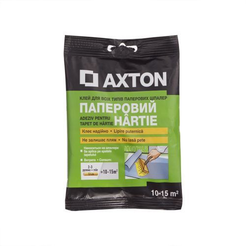 adeziv Axton tapet hartie, 2-3 role adeziv