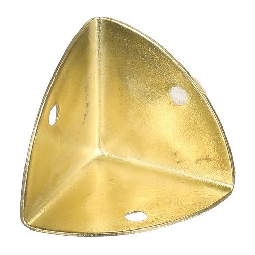30 capace surub plastic maro D6 mm