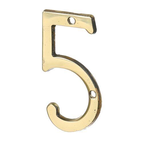"""Cifra """"5"""" alama 50 x 35 mm"""