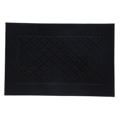 Covoras intrare 40 x 60 cm negru