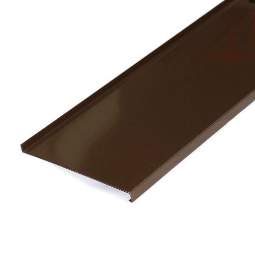 Glaf aluminiu maro 3000 x 250 x 1 mm