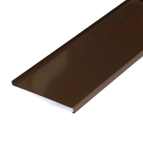 Glaf aluminiu maro 1500 x 250 x 1 mm