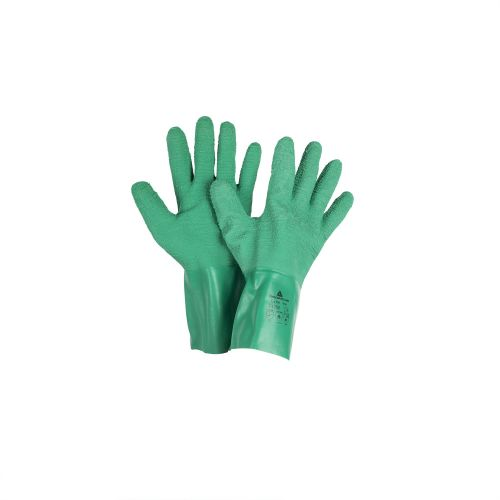 Manusi latex cu palma aspra Delta M9