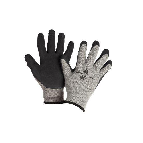 Manusi tricotate cu palma din latex Delta M10