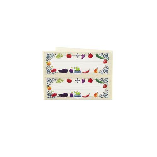 Set etichete pentru borcan