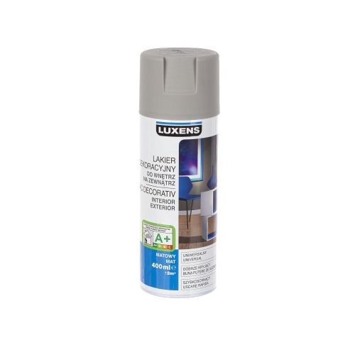 Spray mat Luxens gri 400 ml