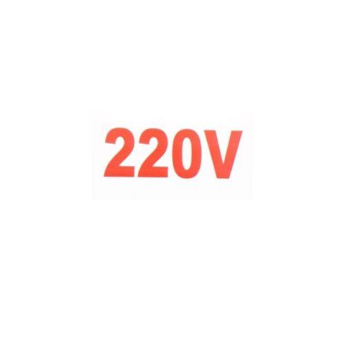 Indicator plastic avertizare 220V 100 x 50 mm
