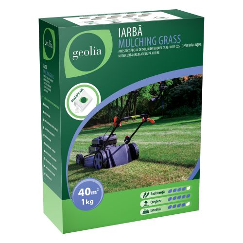 Iarba Mulching Grass Geolia 1 kg