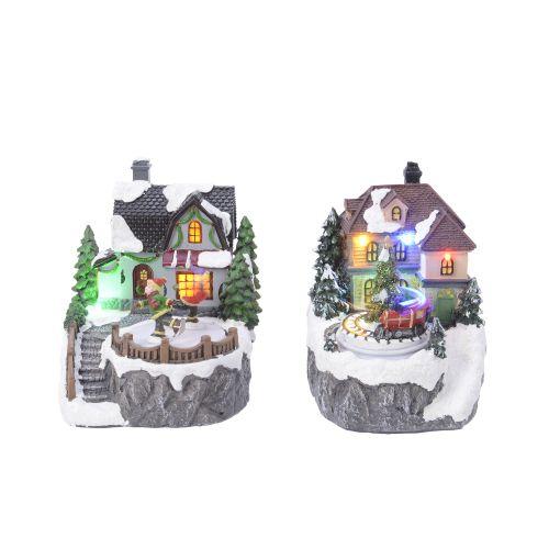 Carusel cu LED Winter village