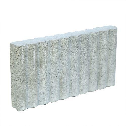 Palisada Randfix gri 47 x 25 x 6 cm (la buc)