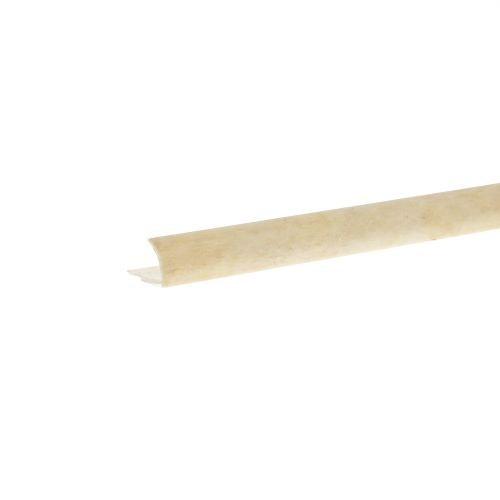 Profil colt exterior PVC 9 mm x 2.5 m EM51 marmorat