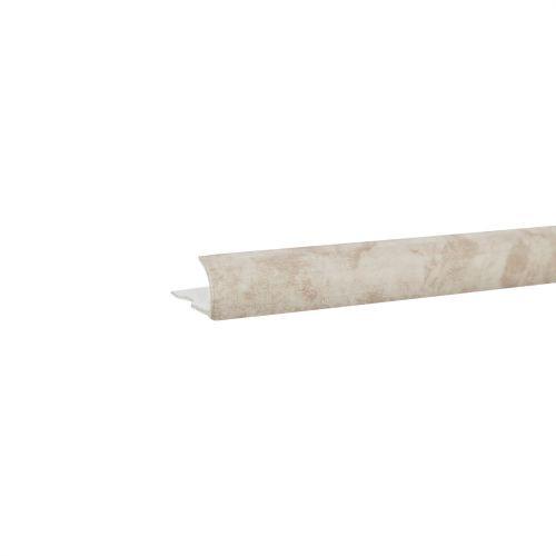 Profil colt exterior PVC 9 mm x 2.5 m EM54 marmorat