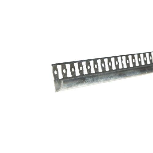 Profil colt exterior aluminiu 10 mm x 2.5 m 00 argintiu mat