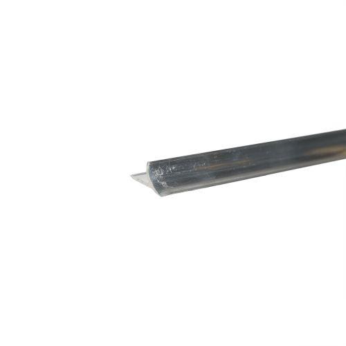 Profil colt interior aluminiu 10 mm x 2.5 m 00 argintiu mat