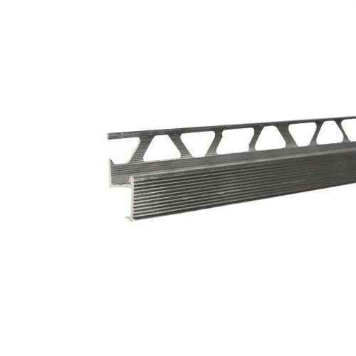 Profil aluminiu treapta gresie natur 10 mm x 2.5 m