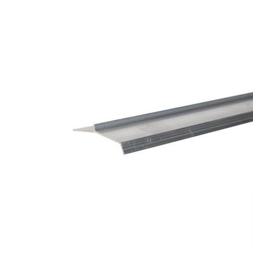 Profil aluminiu picurator gresie 25 mm x 2.5 m argintiu