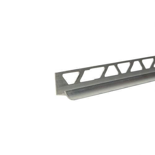 Profil colt interior aluminiu 9 mm x 2.5 m argintiu