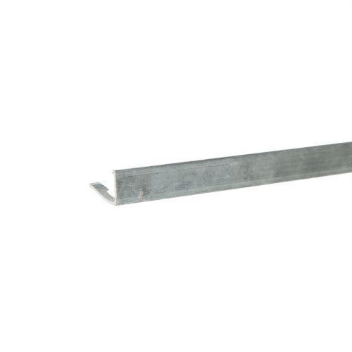 Profil flexibil terminatie gresie 10 mm x 2.5 m argintiu