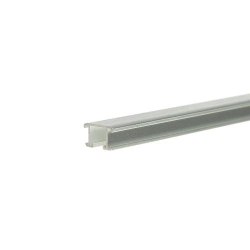 Listel decorativ aluminiu 12.5 mm x 2.5 m A0 argintiu