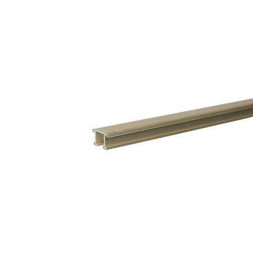 Listel decorativ aluminiu 12.5 mm x 2.5 m A2 auriu