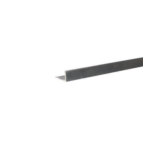 Profil aluminiu finisaj 8 mm x 2.5 m 00 argintiu mat