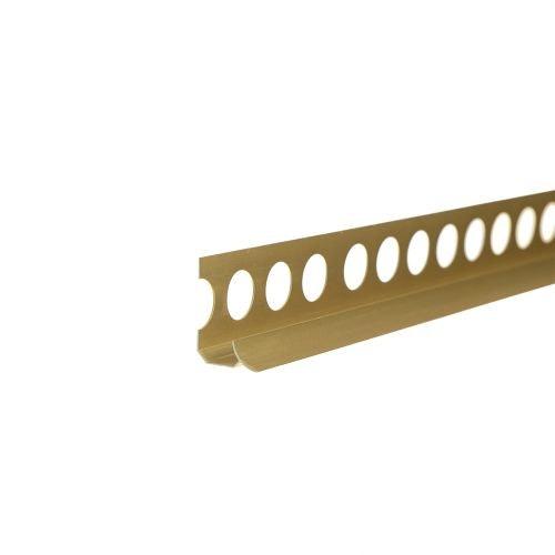 Profil colt interior 10 mm x 2.5m auriu mat