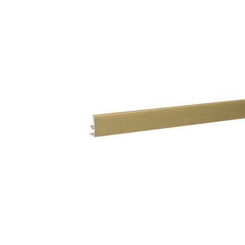 Profil flexibil perete 11 mm x 2.5 m auriu mat
