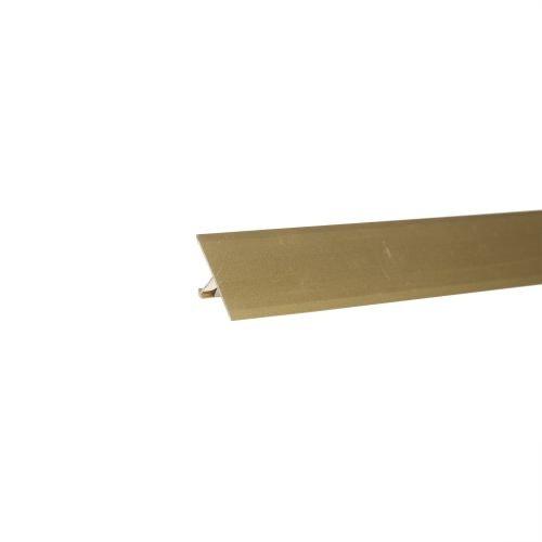 Profil fix podea 25 mm x 2.5 m auriu mat