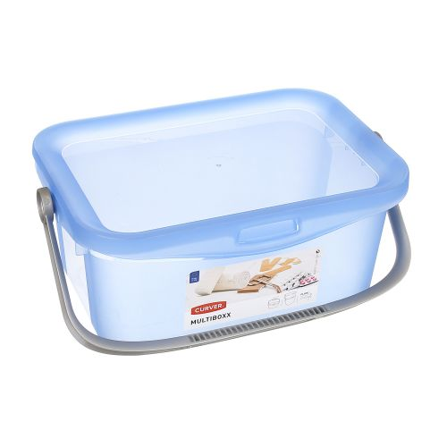 Cutie depozitare Multibox transparent 3L
