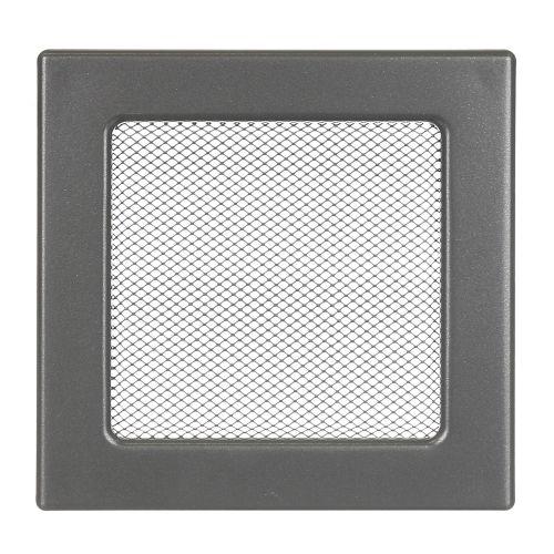 Grila ventilatie 17 x 17 cm grafit