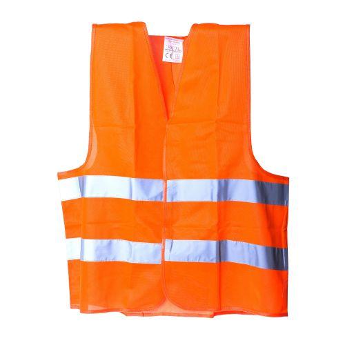Vesta reflectorizanta portocalie marimea XL